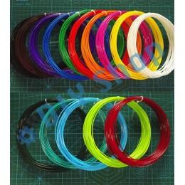 15 цветов 100 м ABS пластик нить леска филамент для 3Д ручки