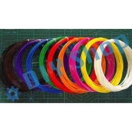 10 цветов 100 м ABS пластик нить леска филамент для 3Д ручки