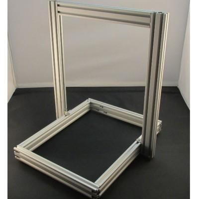 Набор станочного, конструкционного профиля 20x40 (2040) для 3D принтера Anet A8, Без покрытия