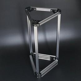 Набор станочного, конструкционного профиля V-slot 20x20 (2020) для 3D принтера Delta Kossel mini (180 мм), Без покрытия