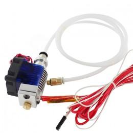 Экструдер с тефлоновой трубкой (в сборе) E3D V6 Bowden для 3D принтера (HotEnd)
