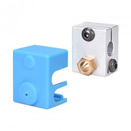 Силиконовая защита термоблока V6 (не оригинал 20х16х12 мм) для 3D принтера