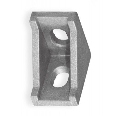 Угол алюминиевый усиленный 2028 (20х28) для станочного профиля 2020, 20х20