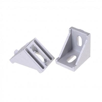 Угол алюминиевый 30х30 для станочного профиля 3030, 30х30