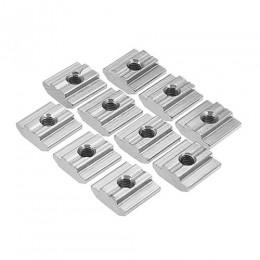 T-nuts сухарь пазовый , Т-гайка (скользящая) М3 закладная для конструкционного профиля 30x30 3030