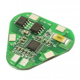 BMS контроллер 3S 4A плата заряда защиты 3x Li-ion 18650 12.6V