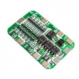 BMS контроллер 6S 15А плата заряда защиты 6x Li-ion 18650 22.2В 24В