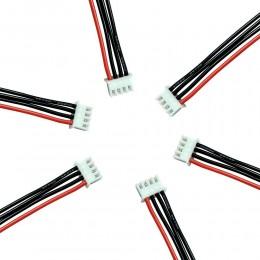 Балансировочный кабель разъем 3S4P 11.1 В (Силиконовый)