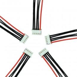 Балансировочный кабель разъем 4S5P 14.8 В (Силиконовый)