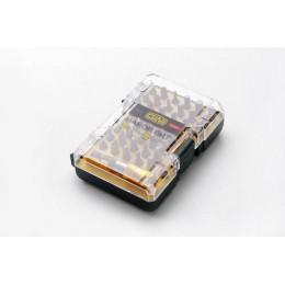 Набор 44 биты 1/4 + битодержатель CrV ( пластиковый кейс) СИЛА (302014)