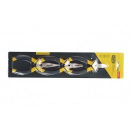Набор губцевого инструмента малого (обрезиненный) СИЛА (310206)