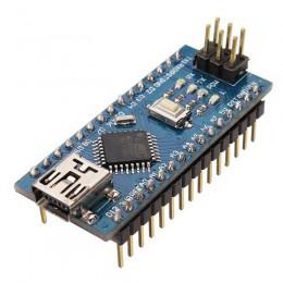 Arduino Nano V3.0 ATmega328P CH340 MiniUSB с распаянными ножками