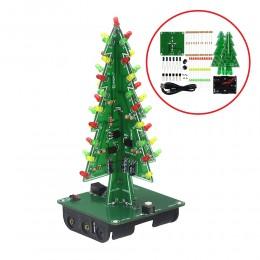 DIY конструктор - новогодняя электронная елка на светодиодах