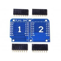 Плата расширения двойная для ESP WeMos D1 mini