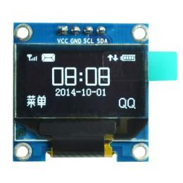 "OLED дисплей 0.96"" SSD1306  I2C 128X64 (белый)"