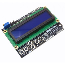 ЖК-экран с кнопками LCD Keypad Shield LCD1602