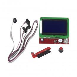 LCD 12864 дисплей для 3D принтера, экран с SD ридером  для RAMPS 1.4