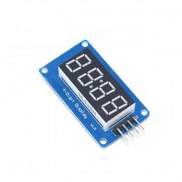 7-сегментный LED Дисплей - 4 цифры I2C драйвер TM1637