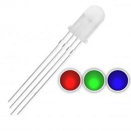 Led Светодиод RGB с общим анодом (Anode -) 5мм