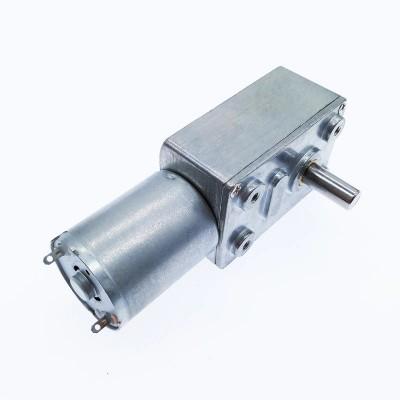 Мотор двигатель ZGY370 (JGY-370) с редуктором металлический 12В 100 RPM 1:50