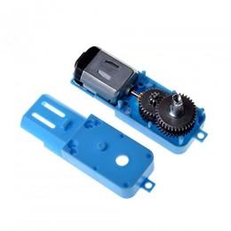 Мотор с редуктором металлическим (мотор-редуктор металлический) для колесного робота 1:90