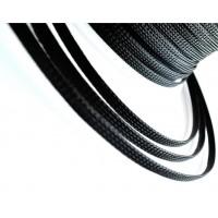Полиэфирная сетка для кабеля PET Nylon (змеиная кожа). Диаметр 8 мм