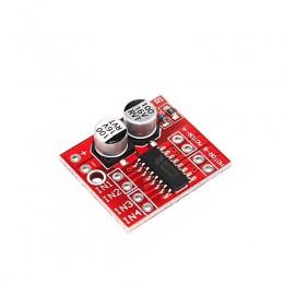 Модуль драйвер 2-канальный PWM ШИМ двигателя постоянного тока mini MX1508, аналог L298N