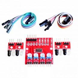 4-канальный инфракрасный датчик препятствий модуль Arduino
