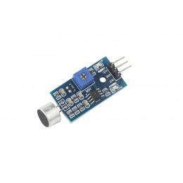 Датчик звука (микрофон KY-037) CZN-15E для Arduino 3 Pin 3,3V - 5V цифровой и аналоговый выход