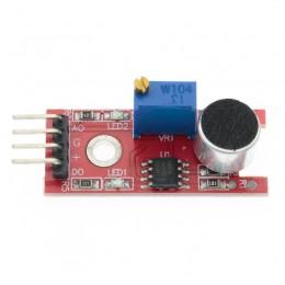 Датчик звука (микрофон KY-038) для Arduino 4 Pin 3,3V - 5V цифровой и аналоговый выход