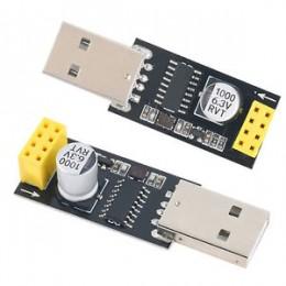 Адаптер USB для ESP-01 (Wi-Fi, CH340G), CH340 USB to ESP8266 ESP-01 Wifi Module Adapter