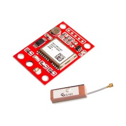 GPS модуль NEO-6M с антенной ( GY NEO6MV2 )